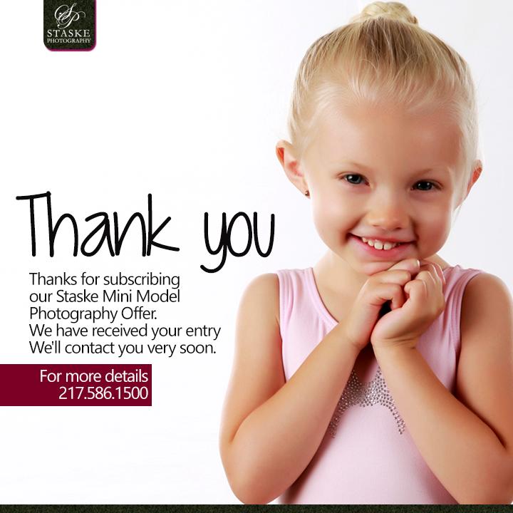 Thanks you mini model