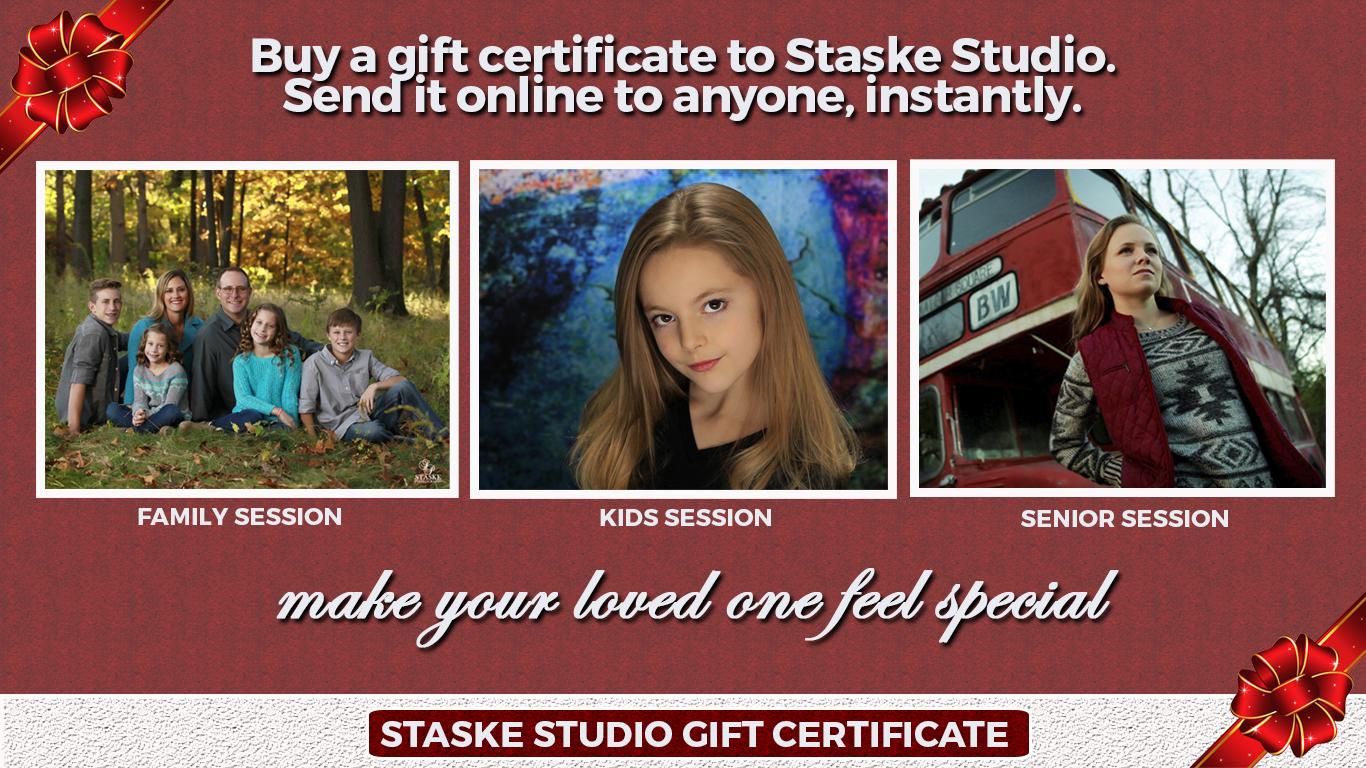 Gift Certificate Staske