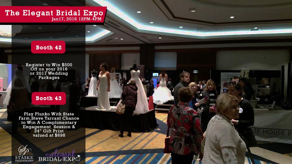 Elegant bridal show