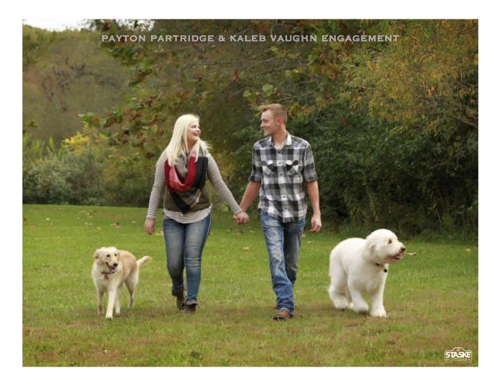 Payton Partridge & Kaleb Vaughn Engagement Photos
